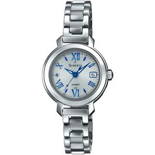 カシオ(CASIO)のカシオ SHEEN 電波ソーラー 腕時計 SHW-5300D-7AJF シルバー(腕時計)
