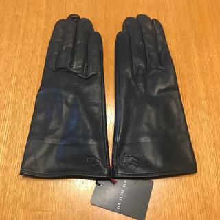 バーバリー(BURBERRY)の【新品未使用】 BURBERRY 本革手袋(手袋)