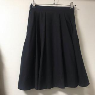 マルティニークルコント(martinique Le Conte)のマルティニーク プリーツスカート(ひざ丈スカート)