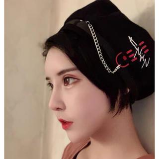 クール可愛いキュートロリータ 原宿森ガールベレー帽(衣装一式)