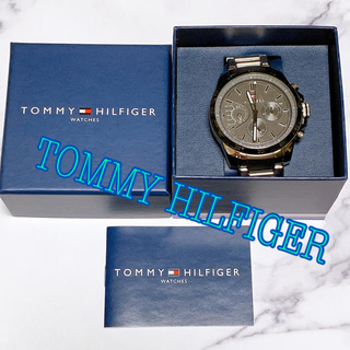 トミーヒルフィガー(TOMMY HILFIGER)の【新品未使用】TOMMY HILFIGER 腕時計(腕時計(アナログ))
