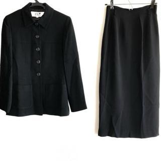 ニジュウサンク(23区)のニジュウサンク スカートスーツ 32 XS 黒(スーツ)