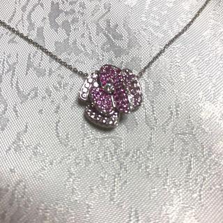 ポンテヴェキオ(PonteVecchio)のポンテヴェキオ  ロッゼリーナ ネックレス k18WG ダイヤモンド(ネックレス)