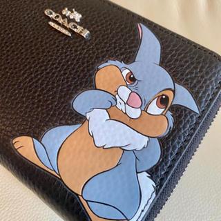 COACH - 在庫セール♡新品 コーチxディズニー限定コラボ 長財布  ダンボ  二つ折り財布