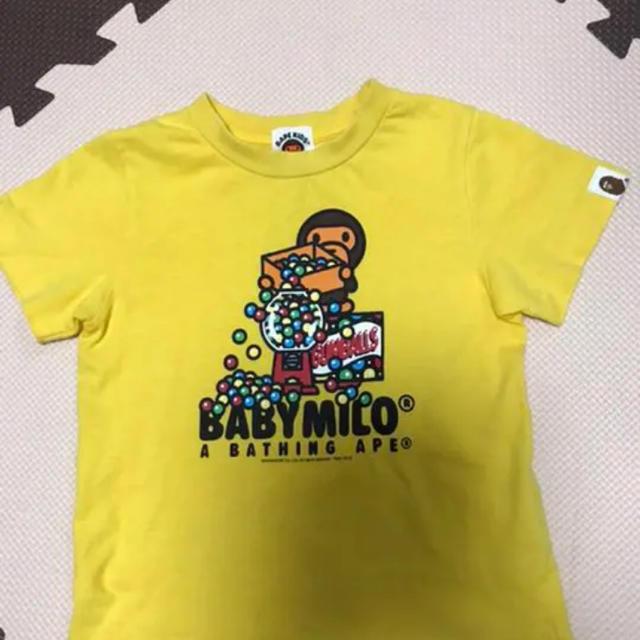 A BATHING APE(アベイシングエイプ)のエイプキッズTシャツ キッズ/ベビー/マタニティのキッズ服男の子用(90cm~)(Tシャツ/カットソー)の商品写真