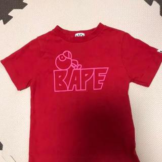 アベイシングエイプ(A BATHING APE)のエイプキッズTシャツ(Tシャツ/カットソー)