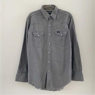 ラングラー(Wrangler)の80's ラングラー グレーデニムウエスタンシャツ ビンテージ  レア(シャツ)