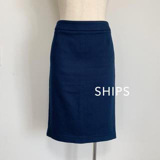 シップス(SHIPS)のSHIPS ストレッチタイトスカート(ひざ丈スカート)