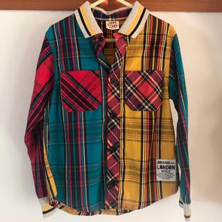 ジャンクストアー(JUNK STORE)のジャンクストア チェックシャツ  サイズ 120(ジャケット/上着)