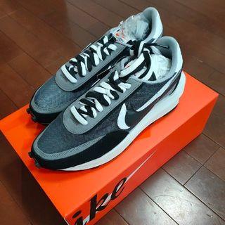 "28.0cm Sacai × Nike LDWaffle ""Black"" (スニーカー)"