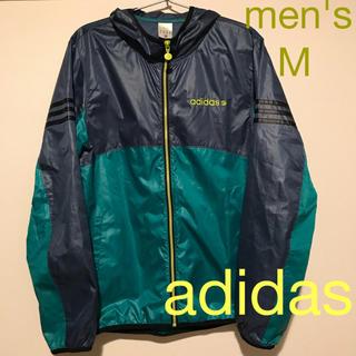 adidas - USED ★ men's アディダスネオ  ブルゾン ウィンドブレーカー M