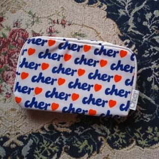 シェル(Cher)の新品未使用!cherシェル☆オリジナルメイクポーチ(ポーチ)