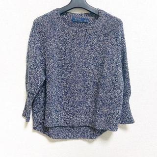 POLO RALPH LAUREN - ポロラルフローレン 七分袖セーター XS