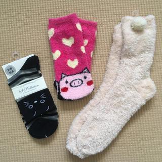 チュチュアンナ(tutuanna)の【今年中】靴下3足セット(ソックス)
