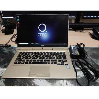 エヌイーシー(NEC)の【本日終了】LAVIE Hybrid Zero HZ550/GA中古品(ノートPC)