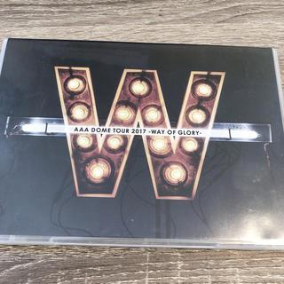 AAA - AAA DOME TOUR 2017 -WAY OF GLORY- DVD