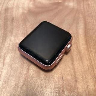 アップルウォッチ(Apple Watch)のApple Watch series2 ローズゴールド ジャンク デモ機(その他)
