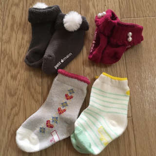 petit main - プティマイン  靴下 ソックス カップソックス 11〜13センチ