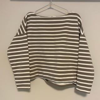 フェリシモ(FELISSIMO)のIEDIT ボートネックTシャツ(カットソー(長袖/七分))