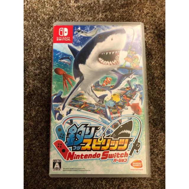 任天堂(ニンテンドウ)の釣りスピリッツ switch ソフト エンタメ/ホビーのゲームソフト/ゲーム機本体(家庭用ゲームソフト)の商品写真