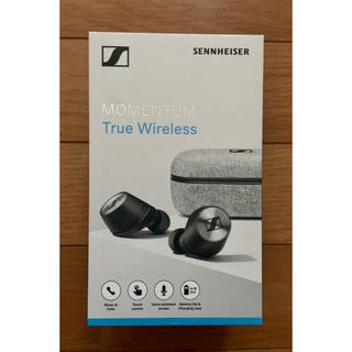 ゼンハイザー(SENNHEISER)の新品未使用 値下げ可 ゼンハイザー Bluetooth 完全ワイヤレスイヤフォン(ヘッドフォン/イヤフォン)