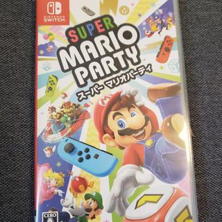 ニンテンドースイッチ(Nintendo Switch)のスーパー マリオパーティー Switch(家庭用ゲームソフト)