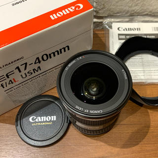 Canon - EF17-40mm f4 IS USM