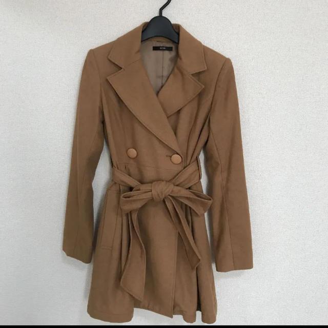 DURAS(デュラス)のDURAS♡プリーツトレンチコート  レディースのジャケット/アウター(トレンチコート)の商品写真