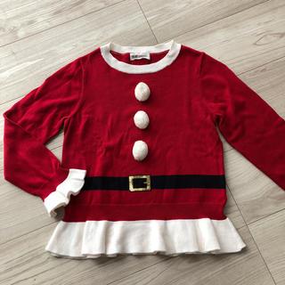 エイチアンドエム(H&M)の未使用 サンタクロース ニット 衣装 コスプレ 仮装 (衣装)