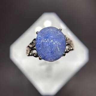 ブルールチャルクォーツ   リング 天然石(リング(指輪))