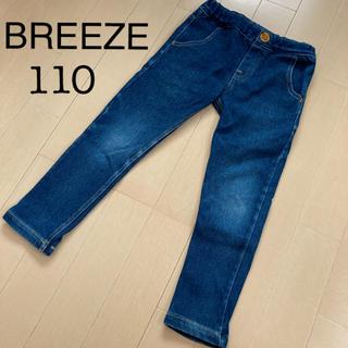 ブリーズ(BREEZE)のスキニーデニム ジーンズ 110(パンツ/スパッツ)
