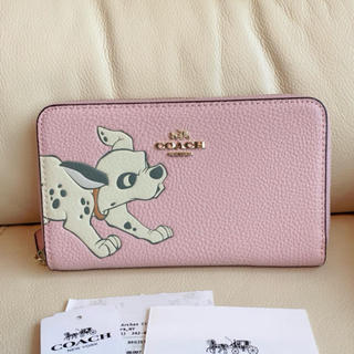 COACH - 在庫セール♡COACH  新品限定コラボ ピンク 101匹ワンちゃん 財布