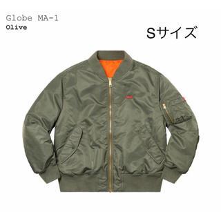 シュプリーム(Supreme)のSupreme Globe MA-1 Olive(フライトジャケット)