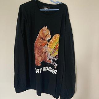 ミルクボーイ(MILKBOY)のMILKBOY CAT BURGERS L.S. Tシャツ 3XL BIGロンT(Tシャツ/カットソー(七分/長袖))