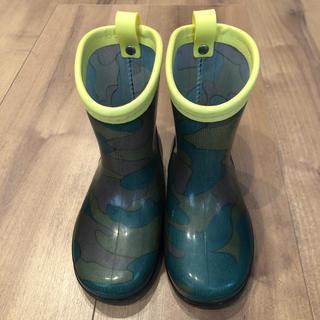 ブリーズ(BREEZE)のbreeze 長靴 迷彩 15cm(長靴/レインシューズ)