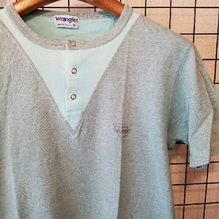 ラングラー(Wrangler)の90's vintage Wrangler スナップボタン ワンポイントTシャツ(Tシャツ/カットソー(半袖/袖なし))