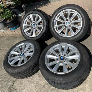 ビーエムダブリュー(BMW)のBMW純正 5シリーズF10 タイヤ付きアルミホイール 225/55R17インチ(タイヤ・ホイールセット)