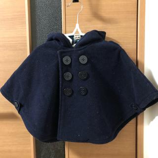 ミキハウス(mikihouse)のポンチョ型コート(ポンチョ)