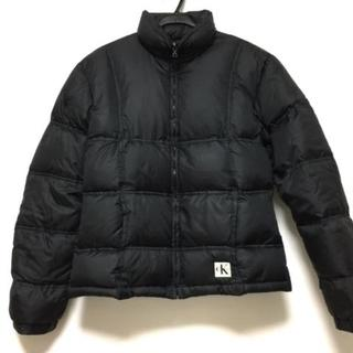 カルバンクライン(Calvin Klein)のカルバンクライン ダウンジャケット S 黒(ダウンジャケット)