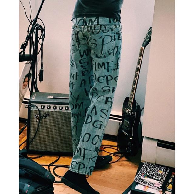 Supreme(シュプリーム)の最終値下 supreme  black ark regular jean 30 メンズのパンツ(デニム/ジーンズ)の商品写真