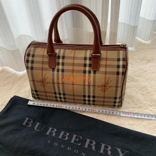 BURBERRY - バーバリー BURBERRY ミニボストン ヘイマーケットチェック