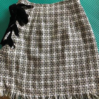 snidel - SNIDEL ツイード スカート