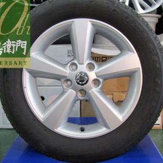 ニッサン(日産)の日産 J10系 デュアリス 20G Four純正 ホイールのみ4本セット(ホイール)