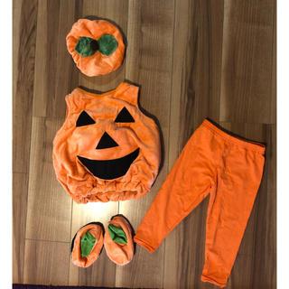 コストコ(コストコ)のハロウィン  ベビー  コスチューム  かぼちゃ 9〜18ヶ月(衣装)
