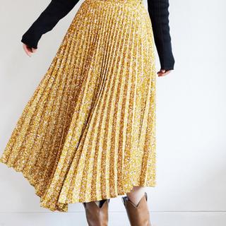 mysty woman - mysty woman アコーディオンプリーツスカート