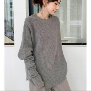 L'Appartement DEUXIEME CLASSE - L'Appartement Thermal Knit ベージュA