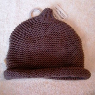 ボンポワン(Bonpoint)の46センチ ニット帽子 ニット帽 とんがり帽(帽子)