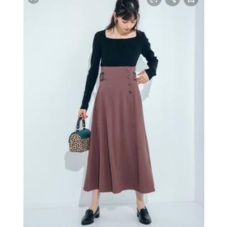 GRL - grl サイドベルトデザインスカート グレイル