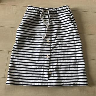 シップス(SHIPS)の美品 SHIPS KIDS シップスキッズ 140 ボーダースカート(スカート)