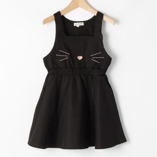 シューラルー(SHOO・LA・RUE)の黒ネコ(=^ェ^=)ジャンパースカート(スカート)